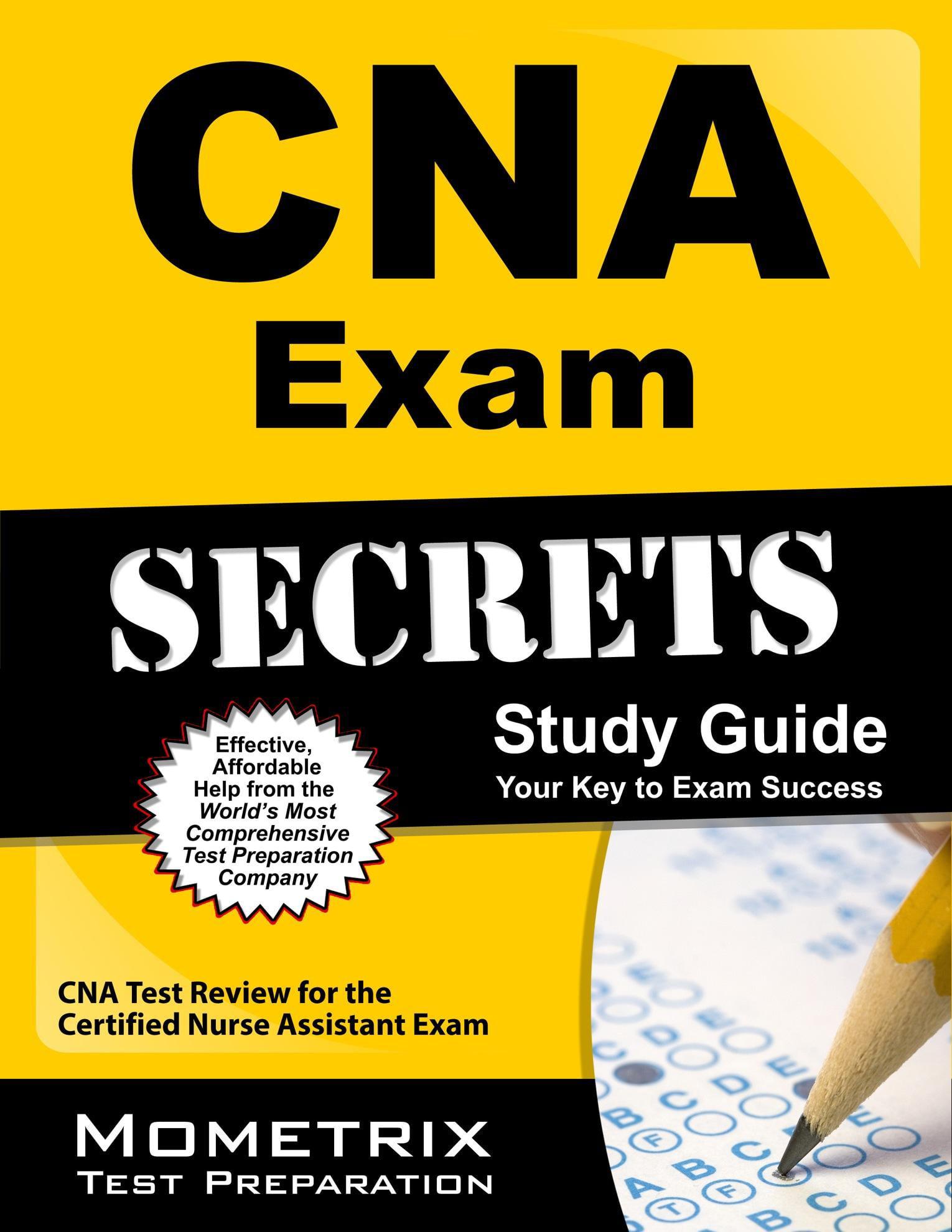 Cna Exam Secrets Study Guide Cna Test Review For The Certified