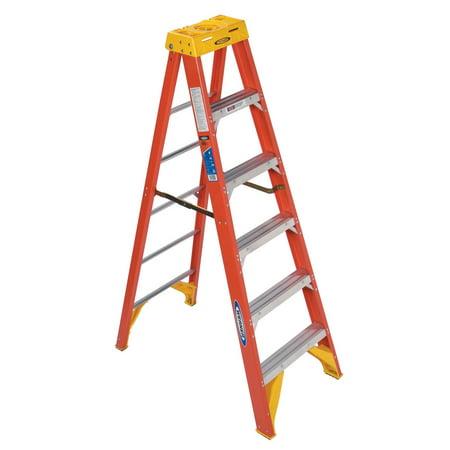 Werner Type 6ft IA Pro Grade Fiberglass Step Ladder