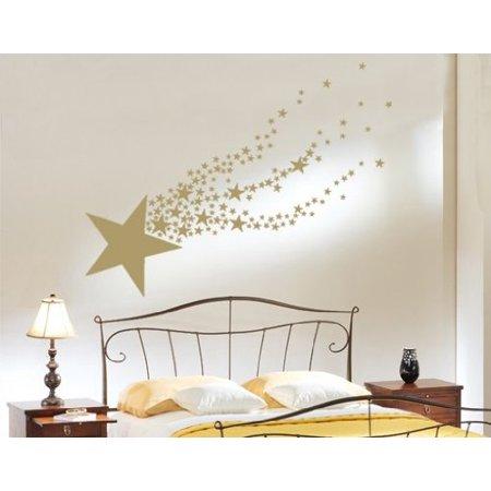 Shooting Star Wall Decal Wall Sticker Vinyl Wall Art Home Decor Wall M