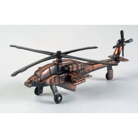 Army Apache Helicopter Die Cast Metal Collectible Pencil