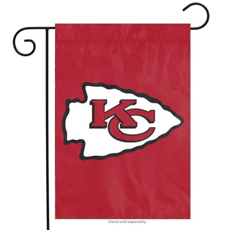 Kansas City Chiefs Applique Garden Flag NFL Licensed 10.5