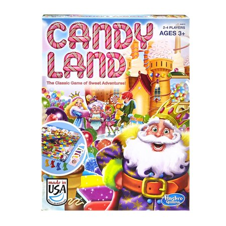 Candy Land Game, Classic Candy Land game features delicious-sounding destinations and sweet adventures By Hasbro - Real Candyland