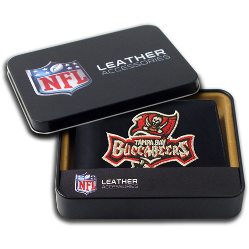 NFL - Men's Tampa Bay Buccaneers Embroidered Billfold Wallet