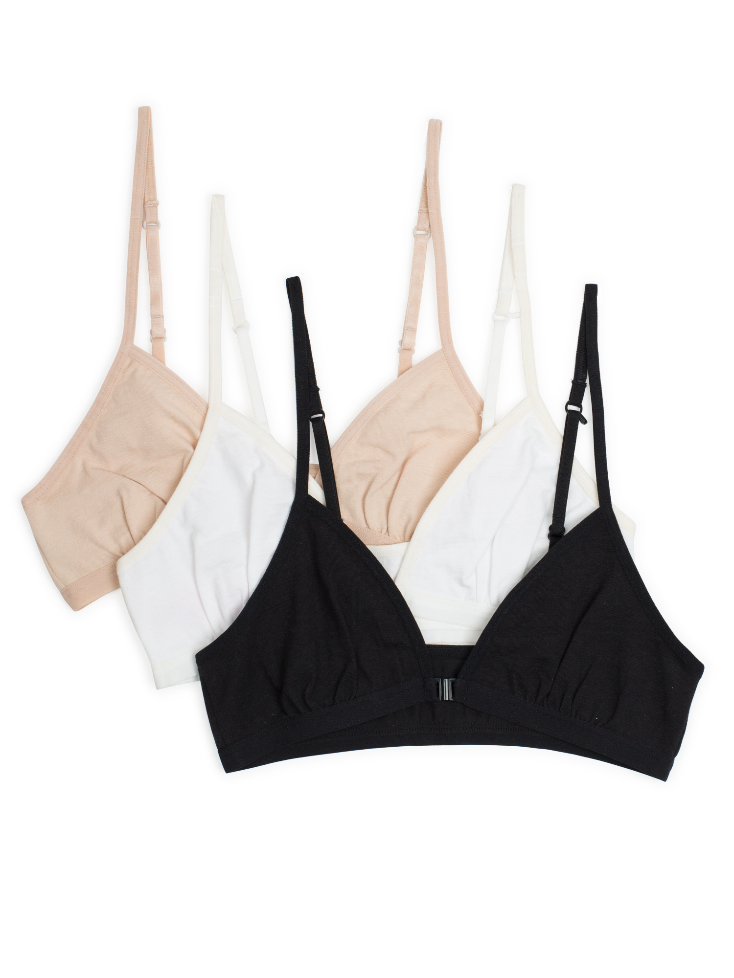Girls Amazing Convertible Bralettes, 3 Pack