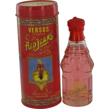 (3 Pack) Red Jeans Eau De Toilette Spray By Versace 2.5 oz - image 2 de 2