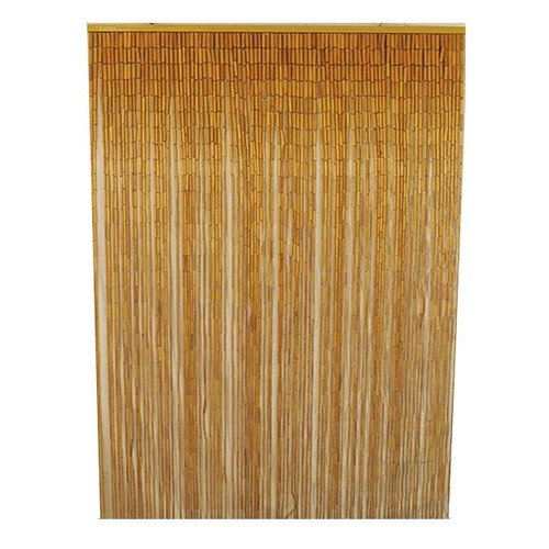 Bamboo54 Natural Bamboo Single Curtain Panel