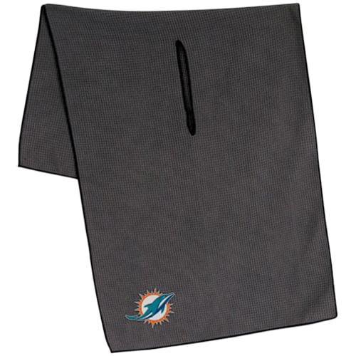 "Miami Dolphins 19"" x 41"" Gray Microfiber Towel - No Size"