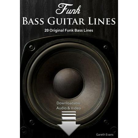 Funk Bass Guitar Lines - eBook