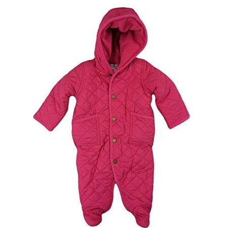 Polo Ralph Lauren Infant Girls Quilted Fleece Lined Bunting -