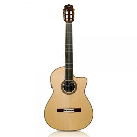 Cordoba Fusion 12 Maple Hybrid Nylon String Classical Acoustic-Electric Guitar