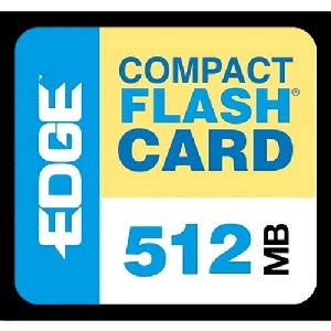EDGE Tech 512MB Digital Media CompactFlash Card - 512 MB (512 Mb Ddr266 Sodimm)