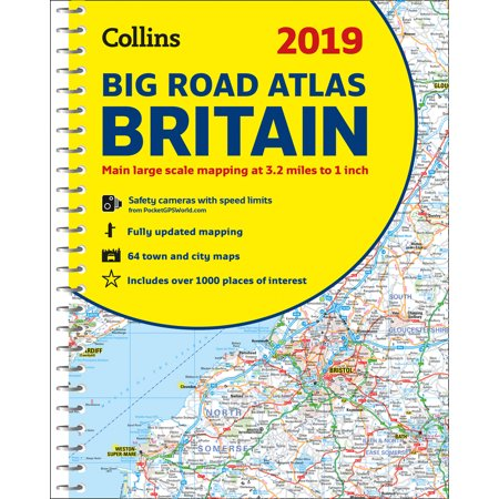 Collins Big Road Atlas (2019 Collins Big Road Atlas Britain )