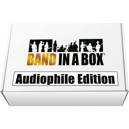 PG Music Band-in-a-Box 2019 Audiophile Edition [Win USB Hard Drive] Emedia Pg Music Band