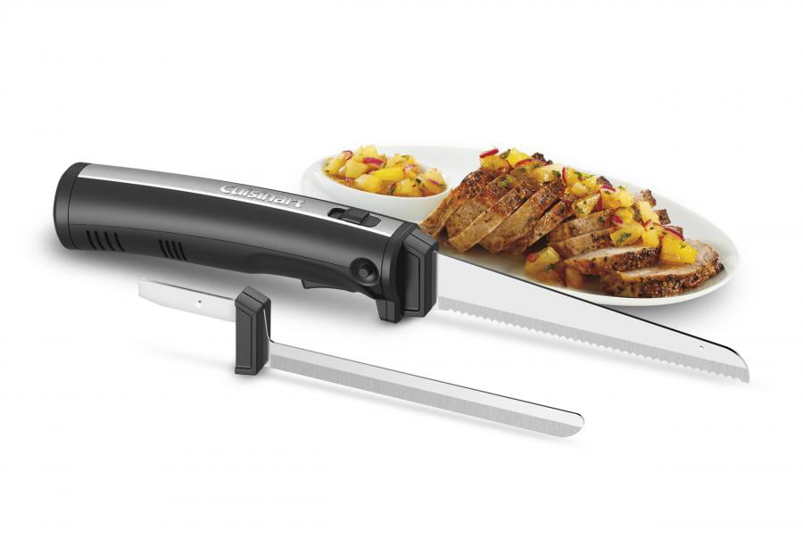 Cuisinart Cordless Electric Knife Set, Black Stainless by Conair