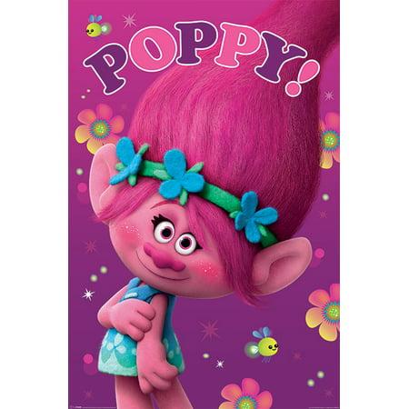 Trolls - Movie Poster / Print (Poppy) (Size: 24