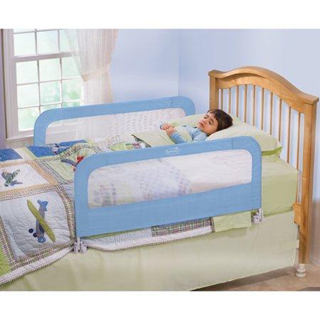 Summer Infant Double Bed Rail Blue Walmart Com