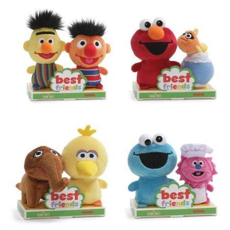 GUND - Sesame Street Best Friends Collection, 4