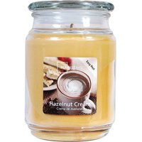 Mainstays Hazelnut Cream Single-Wick Jar Candle, 20 oz. (2 pack)