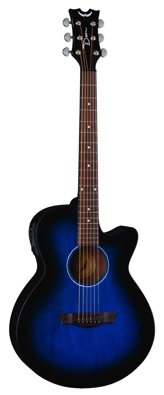 Dean AX PE BB AXS Performer Acoustic Electric Guitar Blue Burst by Dean Guitars
