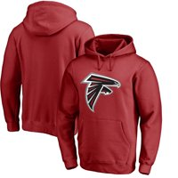 Atlanta Falcons NFL Pro Line by Fanatics Branded Primary Logo Pullover Hoodie - Red