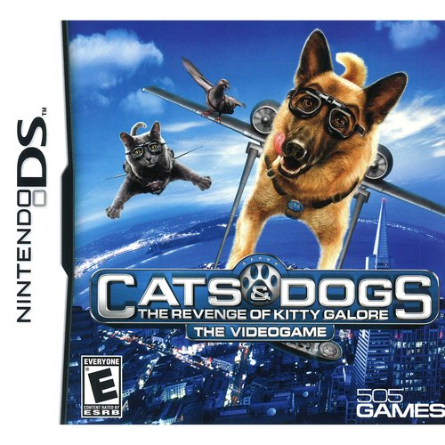 Cats & Dogs: Revenge of Kitty Galore (DS)