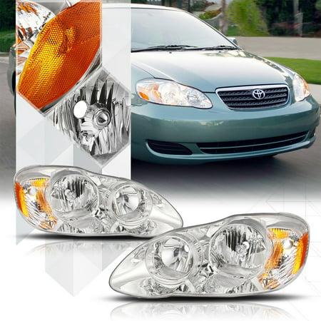 2005 toyota corolla headlight