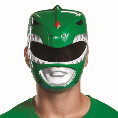 Disguise Men's Green  Ranger Adult Mask, One Size Adult - Austin Powers Mask