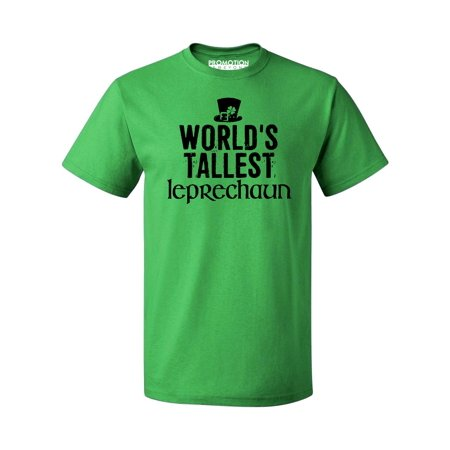 P&B WORLD'S TALLEST LEPRECHAUN EVER Irish St Patrick's Day Men's T-shirt, 2XL, Green](Crafts For St Patrick's Day)
