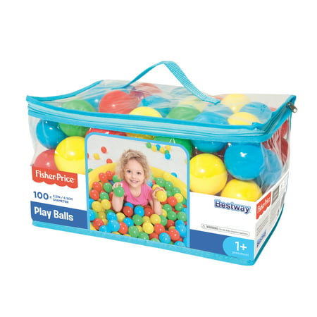 Fisher-Price 2.2 Inches 100 Play Balls](Plastic Balls In Bulk)