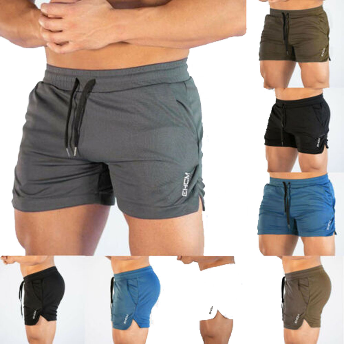 Men/'s Gym Training Shorts Workout Sports Casual Clothing Fitness Running Short