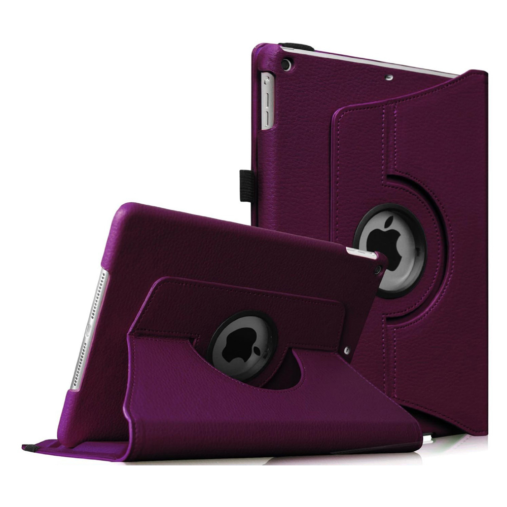 iPad mini 3 / iPad mini 2 / iPad mini Rotating Case - Fintie Multi-Angle Stand Smart Cover with Auto Sleep/Wake, Purple