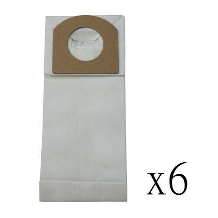6 Vacuum Cleaner Bags for Hand Vac Bag Type G Dirt Devil 3010347001 ()