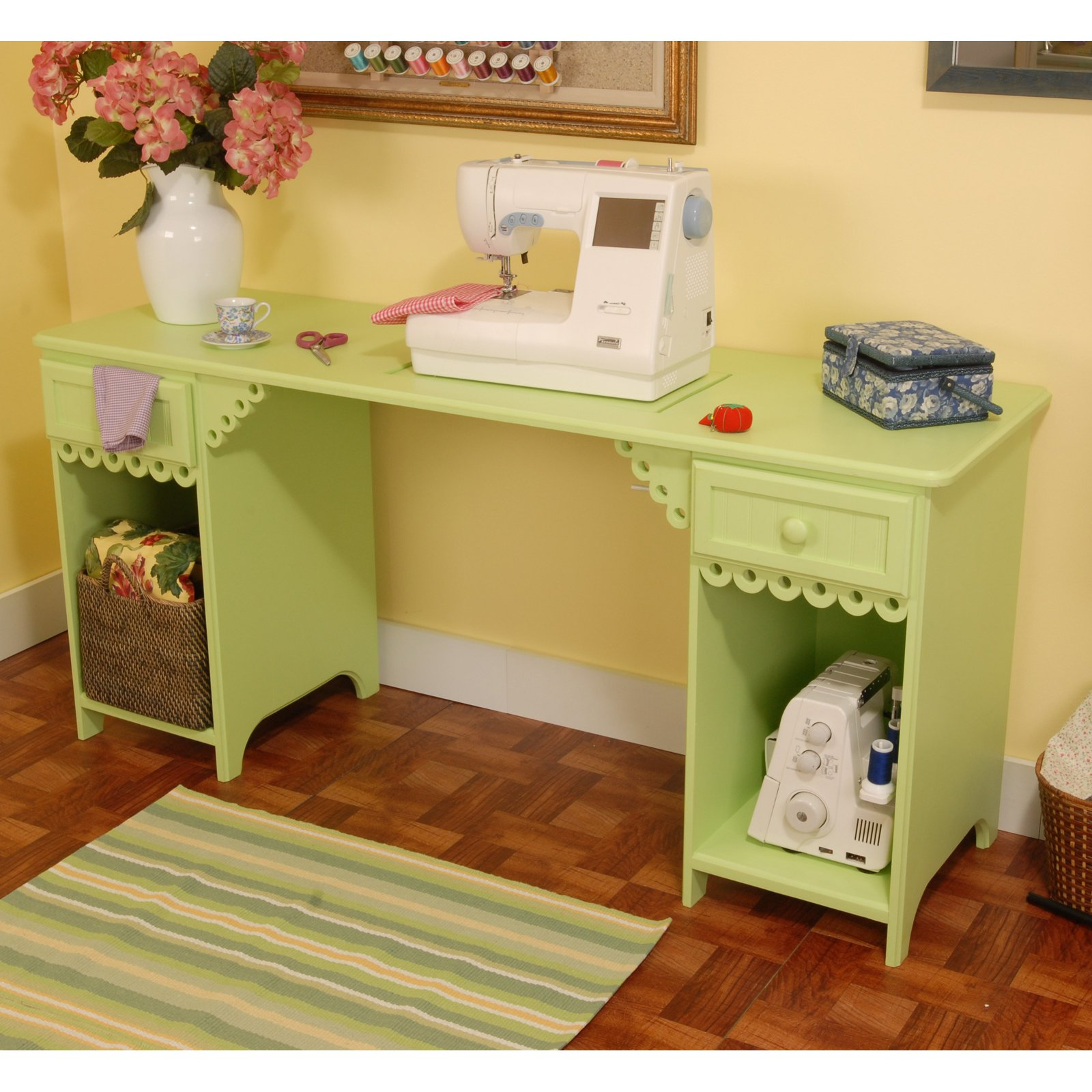 Arrow Olivia Sewing Table Walmart