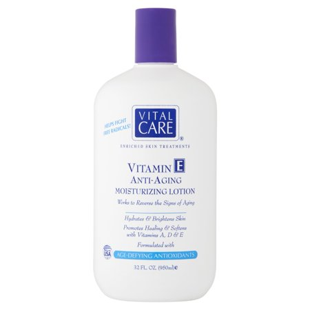 Vital Care Vitamin E Anti-Aging Moisturizing Lotion, 32 fl oz ()