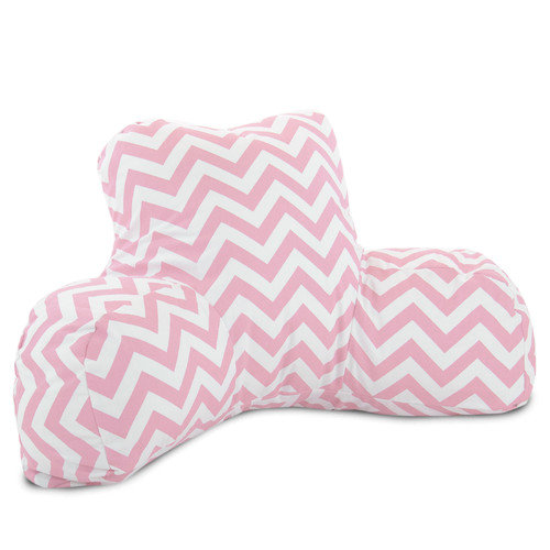 Majestic Home Goods Chevron Bed Rest Pillow