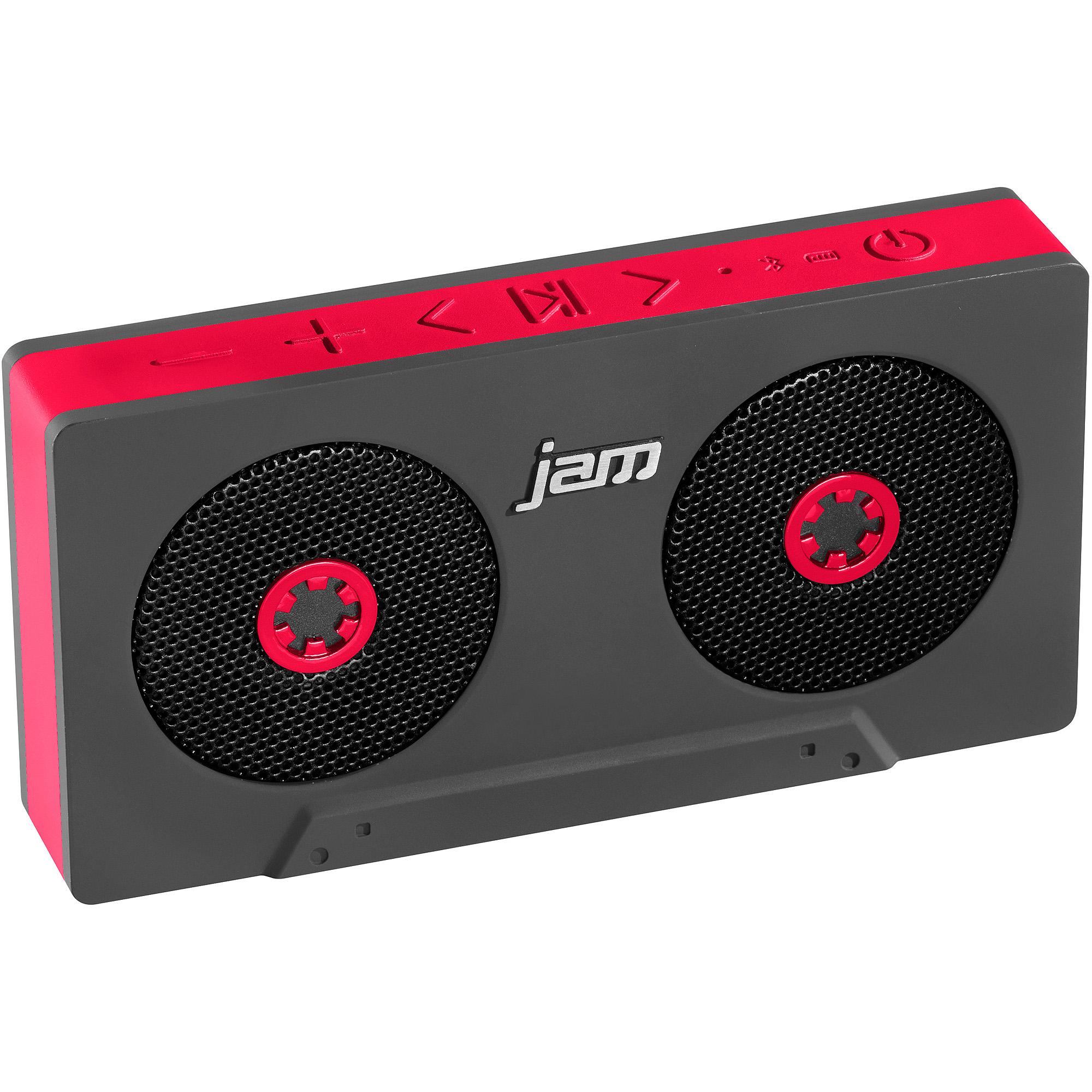 HMDX HX-P540RD Jam Rewind Bluetooth Speaker, Red