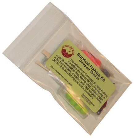 - Compact Survival Fishing Kit Multi-Colored