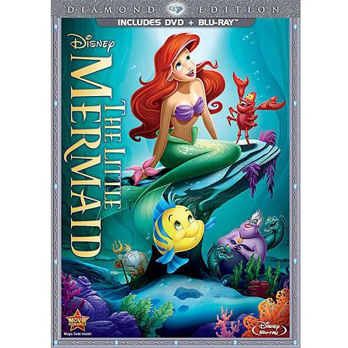 The Little Mermaid (Diamond Edition) (DVD + Blu-ray)
