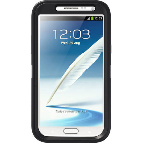 Otterbox Samsung Galaxy Note 2 Case Defender Series, Black