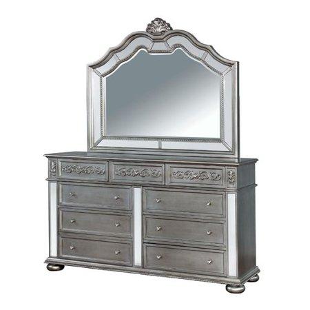 Tropical Island Dresser Mirror - Rosdorf Park Terrence Arched Dresser Mirror