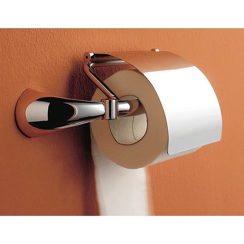 Toscanaluce by Nameeks Kor Wall Mounted Toilet Paper Holder with Cover