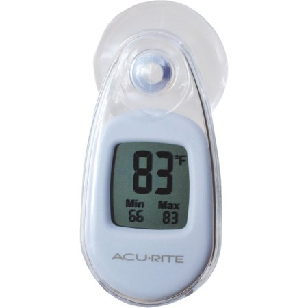 (Acu-Rite Suction-Cup Window Indoor & Outdoor Thermometer)