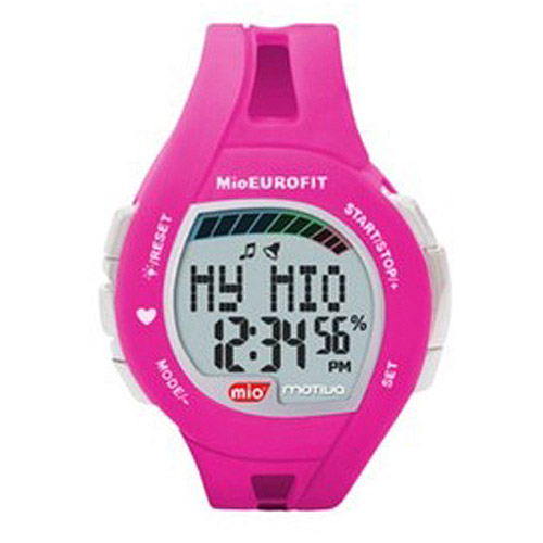 Mio Motiva Petite Pink Weight Management and Heart Rate Monitor Watch