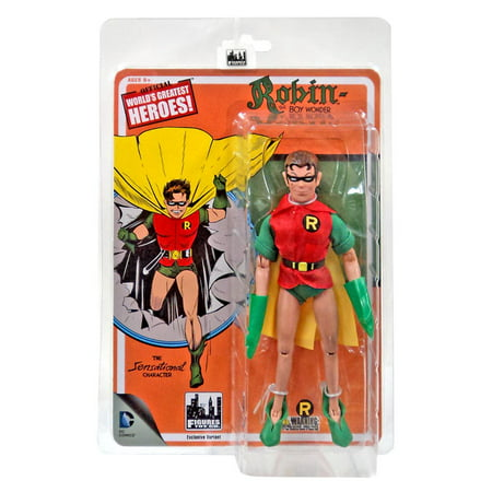 DC First Appearances Series 1 Robin Action Figure [Yellow - Dc Robin