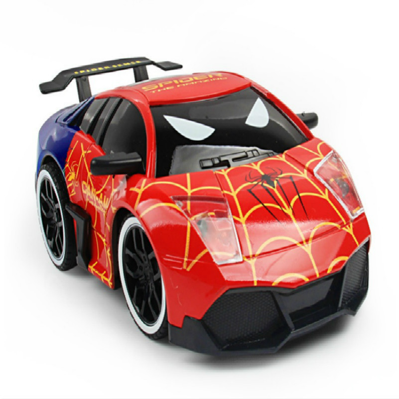Spider-Man, Radio Remote Control Drift Cars Toys