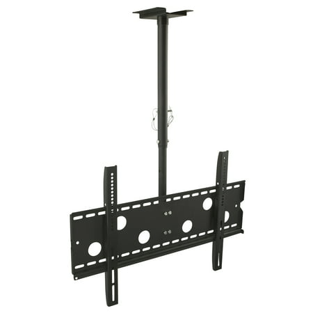 Mount-It Ceiling TV Mount For 32 37 40 42 43 50 55 60 65 70 Inch Flat Panel Televisions (MI-501B)