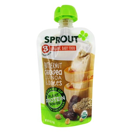 Sprout - Organic Baby Food Stage 3 8 Months Butternut Chickpea Quinoa & Dates - 4