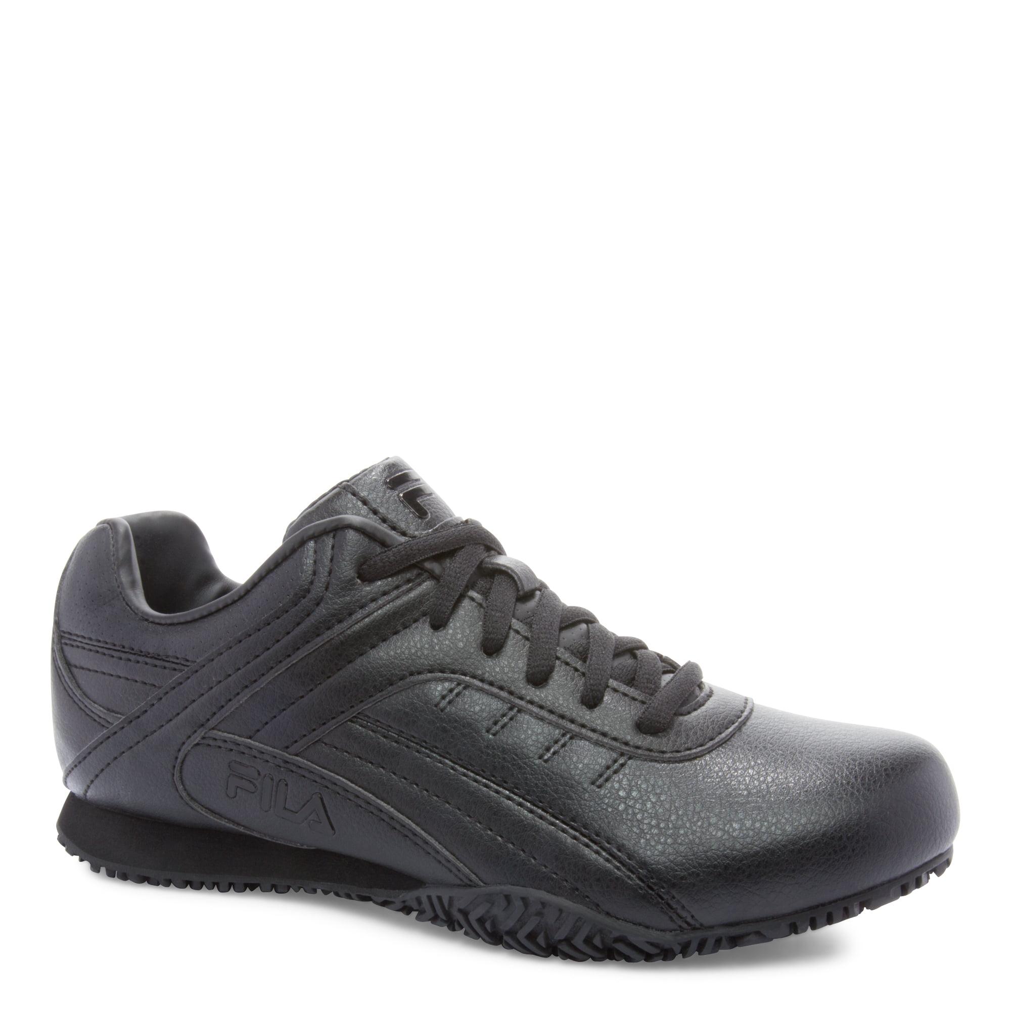 Women's Fila, Memory Elleray 5 Slip Resistant Work Sneaker Wide Width by Fila