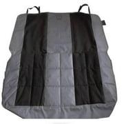 Petego EB Velvet Multi-Fabric Rear Seat Protector Anthracite-Black