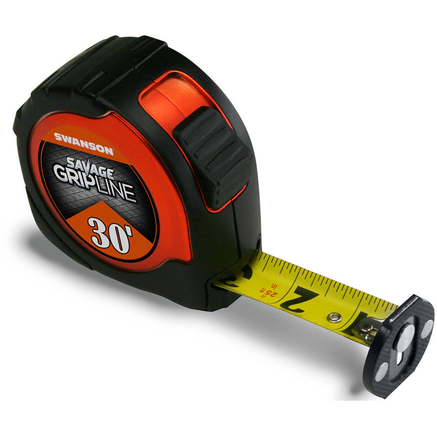 Savage SVGL30M1 30' Magnetic GripLine Tape Measure